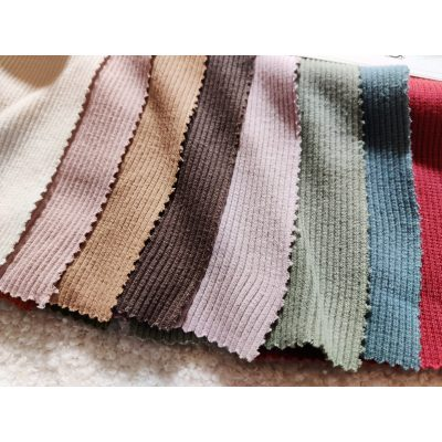 Matching Ribbing for Waffle knit jersey fabric pre-order oeko-tex